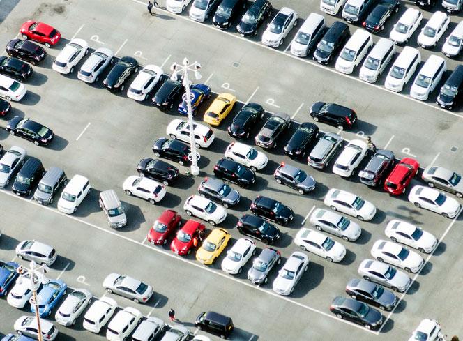 イーレンタカー新千歳空港に予約から成田空港駐車場(海外ツーリストパーキング)で無料駐車場
