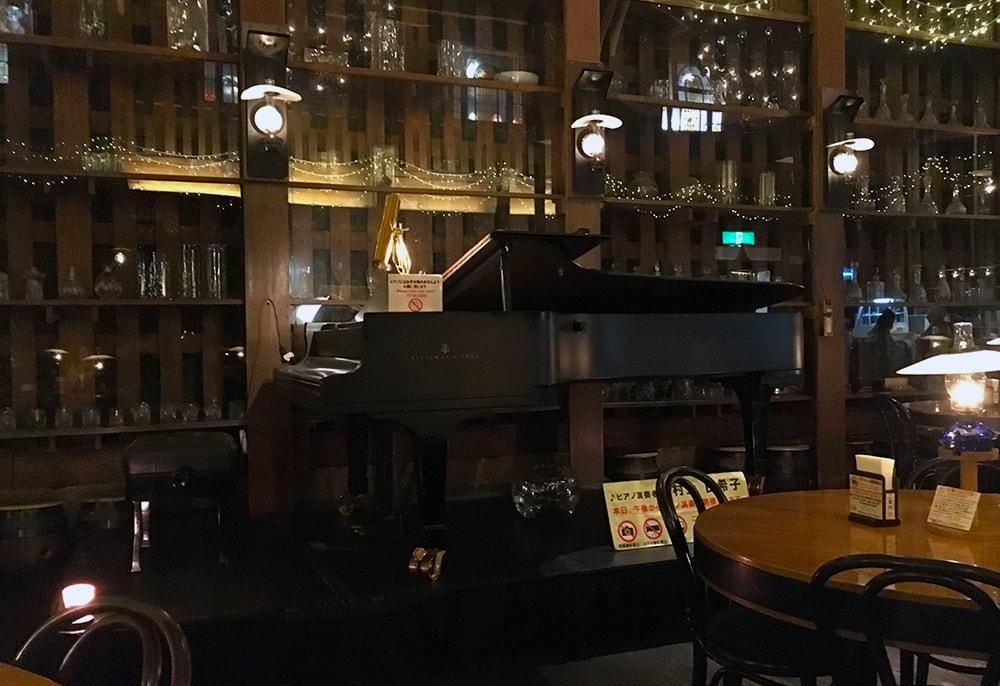 喫茶店「北一ホール」さん ピアノ演奏