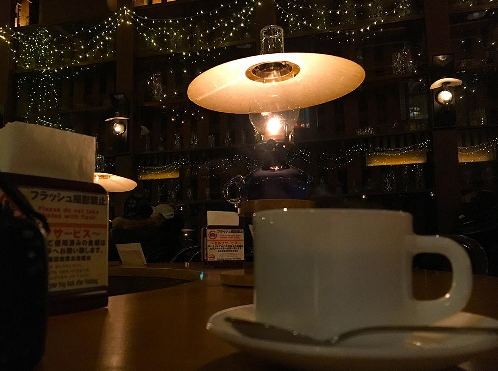 喫茶店「北一ホール」さんでコーヒー