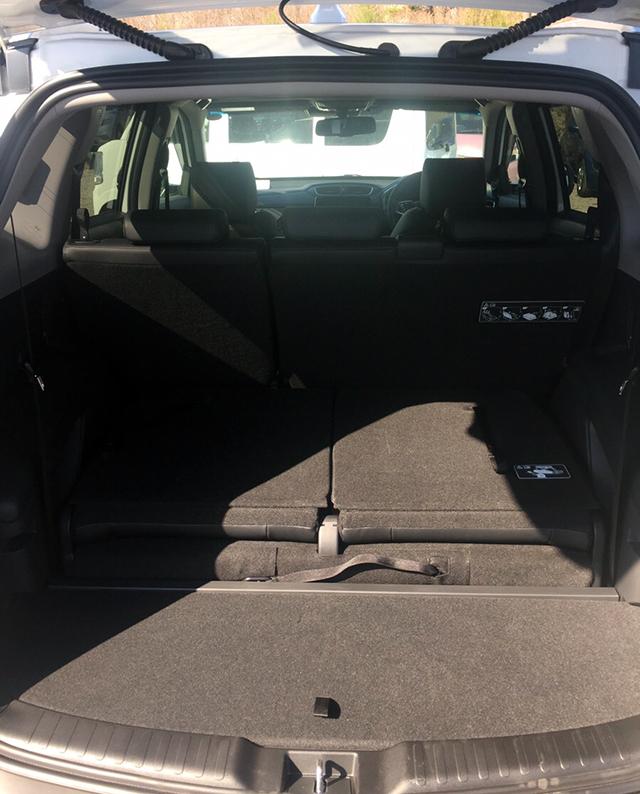 CRV レンタカー トランク